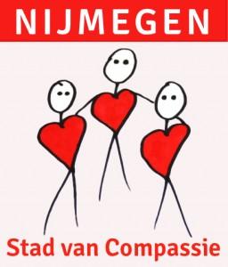 Logo Nijmegen, stad van compassie