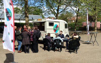 Straatkoffie, ook dit jaar weer zeker 10 keer in Nijmegen