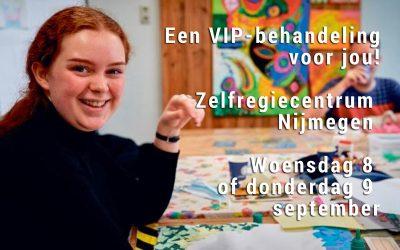 Wil jij een VIP-behandeling bij Zelfregiecentrum Nijmegen